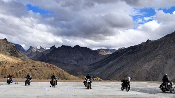 Bikers in Ladakh