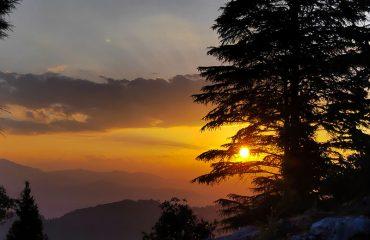 Uttarakhand Sunset
