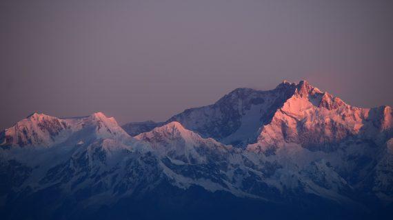 Dawn Lit mountains